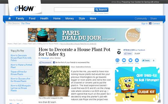 Decorer Un Pot De Fleur En Bonhomme De Neige