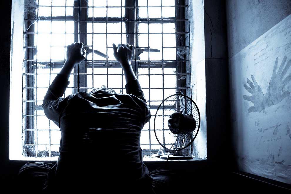 le sexe de lingerie prison sexuelle