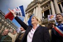 Sondage choc: Marine Le Pen en tête du 1er tour