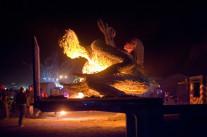 Les chaleurs du festival Burning Man