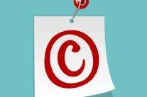 Pinterest épinglé par le droit d'auteur