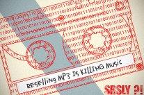 Vend fichier MP3 très peu servi
