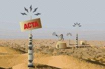 Relents tunisiens d'ACTA