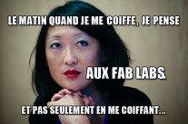 """Fleur Pellerin : """"Oui, nous voulons des #fablab partout en France"""""""